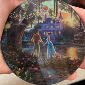Glass Disney Thomas Kinkade Collectors Ornament